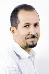 Amine Abina, chercheur en hématologie.