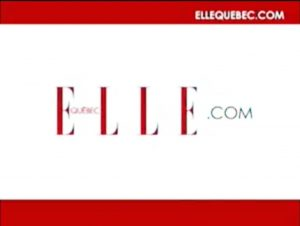 Elle Quebec report.
