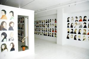 {sas} gallery installation.