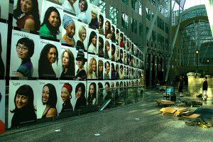 Allen Lambert Galleria installation.