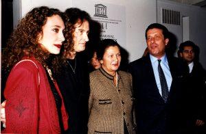 Opening: Marisa Berenson, Pierre Maraval,  Simone Veil.