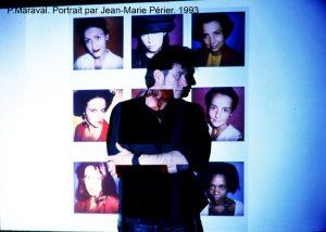 Portrait by Jean-Marie Perier  for ELLE magazine.