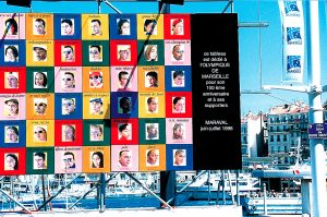 Vieux Port exhibition