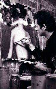 1991 Pierre Maraval, Bobigny studio.