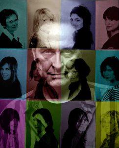 2007 portrait by Marianne Larochelle