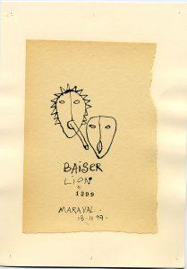Baiser Lion