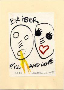 Baiser Piss & Love