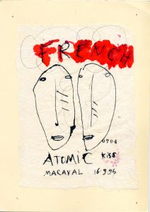 French atomic kiss